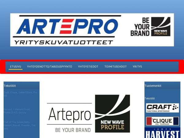 artepro.fi