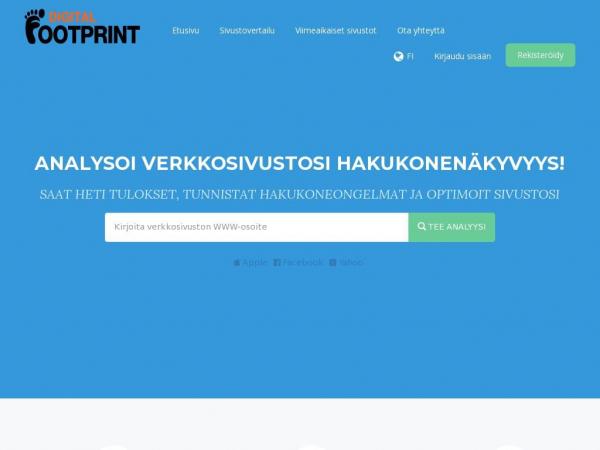 digitalfootprint.fi