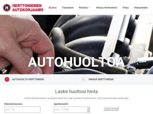 herttoniemenautokorjaamo.fi