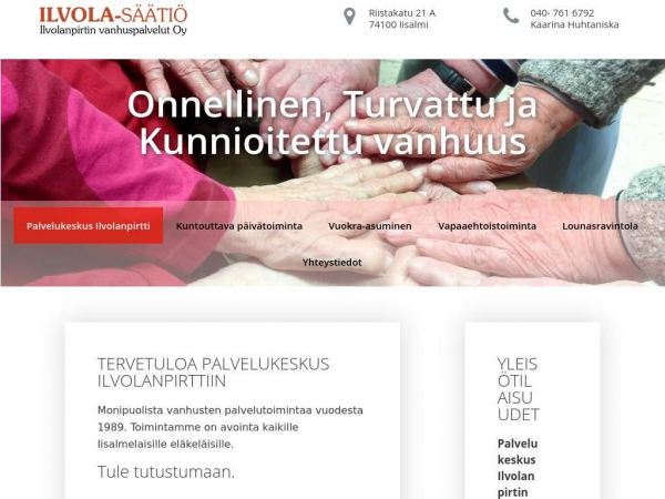 ilvola-saatio.fi