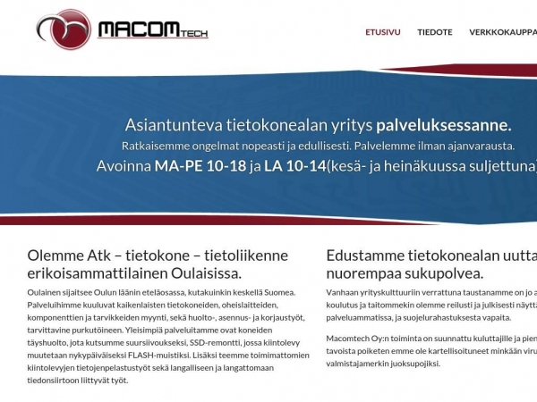 macomtech.fi