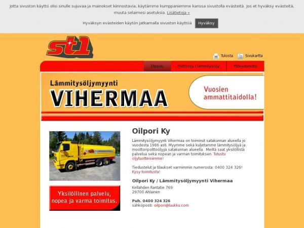 oilporivihermaa.com