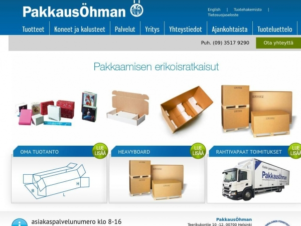 pakkausohman.com