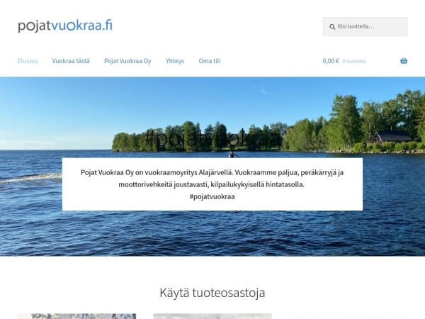 pojatvuokraa.fi