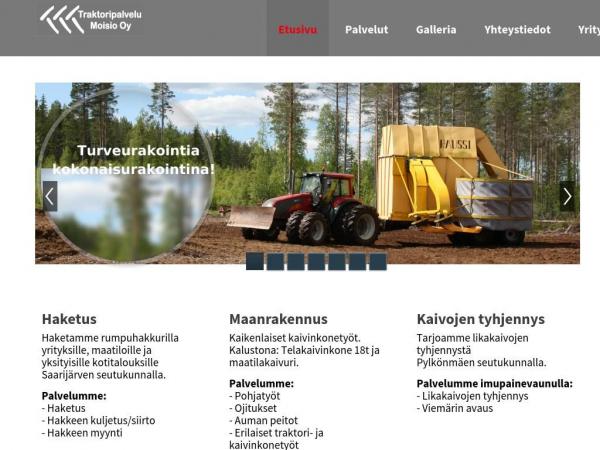 traktoripalvelumoisio.fi